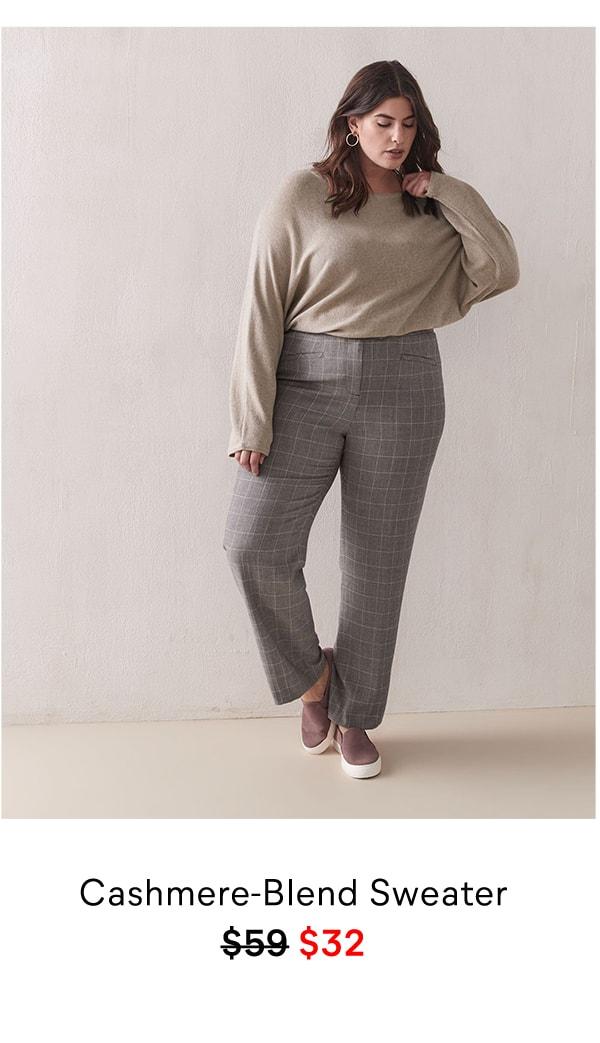 Cashmere-Blend Sweater