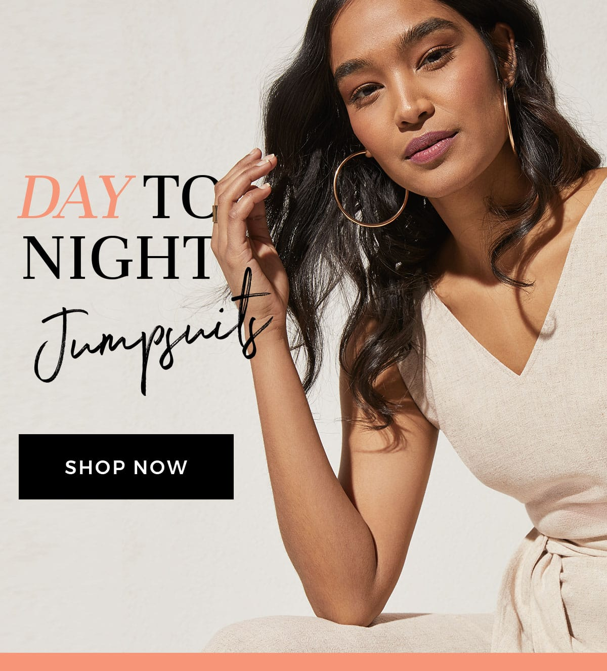 Day to night Jumpsuits. Shop Now.