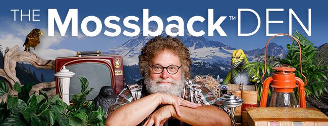 The Mossback Den email header