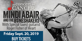 Concert for Cancer - Friday September 20 - Buy Tickets
