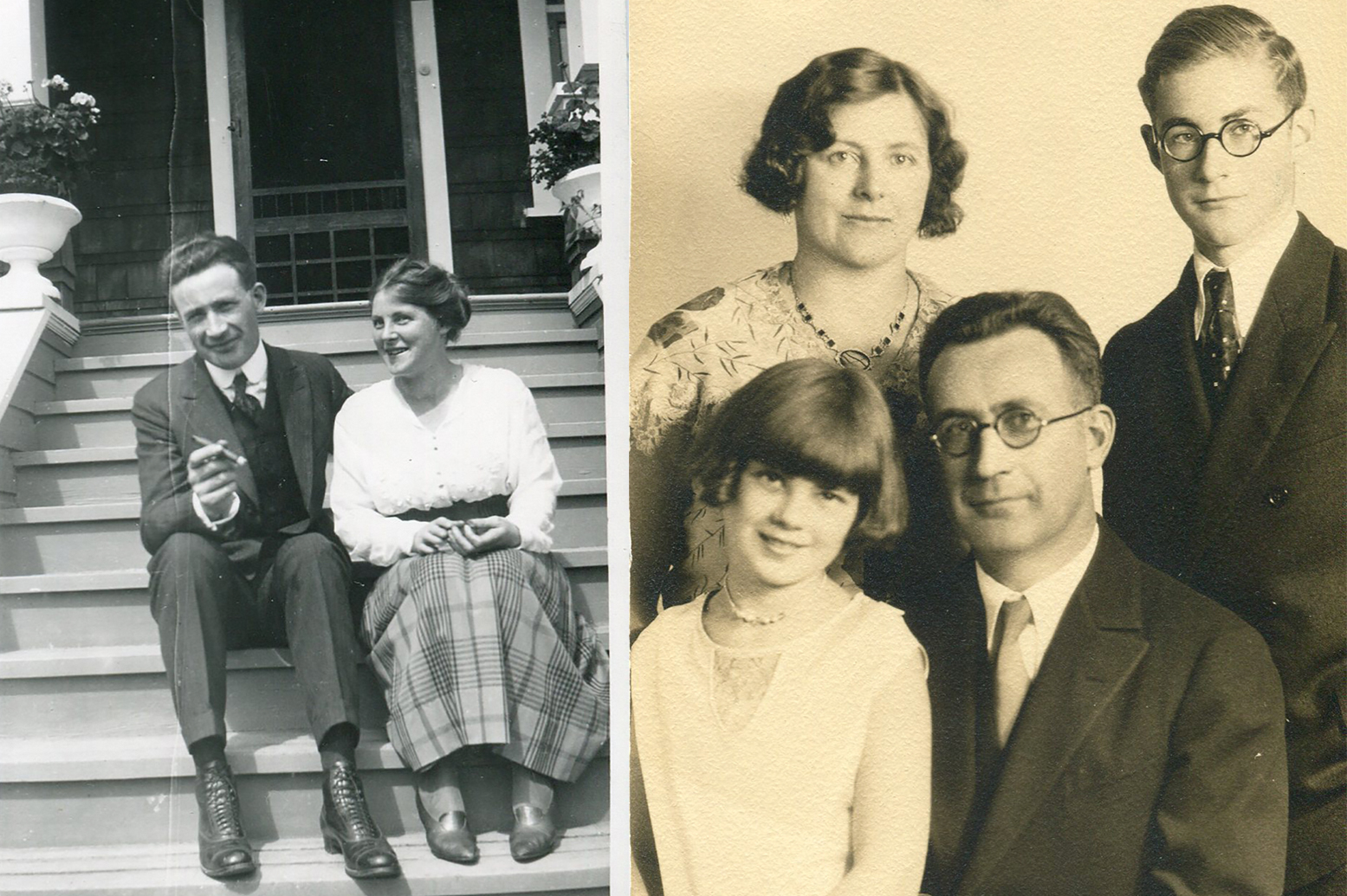 Crosscut columnist Knute Berger's family photos
