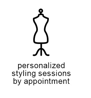 Personalized styling sessions by appointment