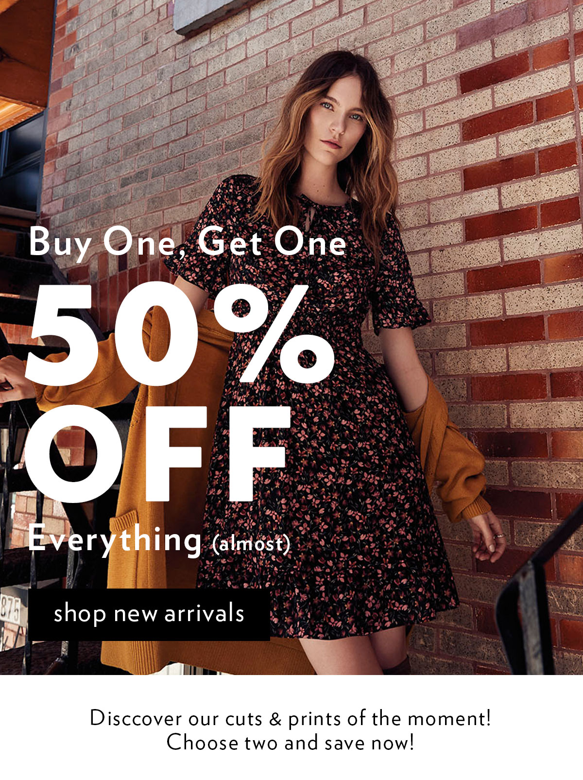 Bogo 50% off everything (almost)