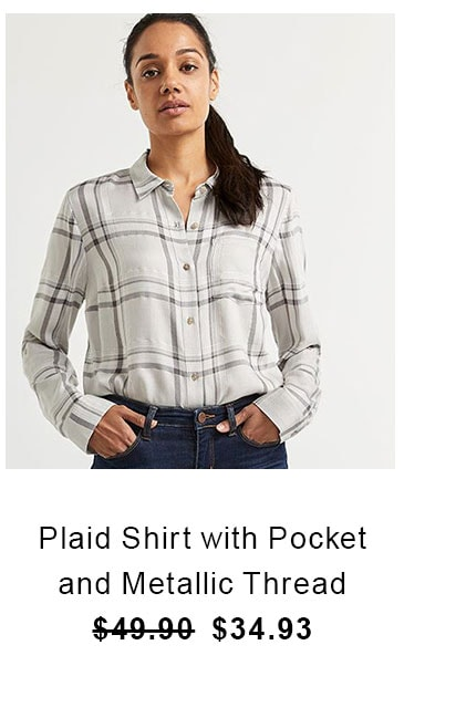 plaid-shirt-with-pocket-and-metallic-thread